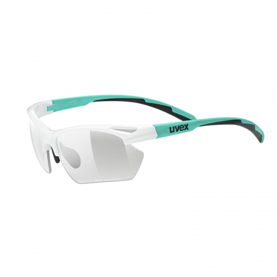 2021 UVEX BRÝLE SPORTSTYLE 802 VARIO SMALL, WHITE - MINT MAT (8701)
